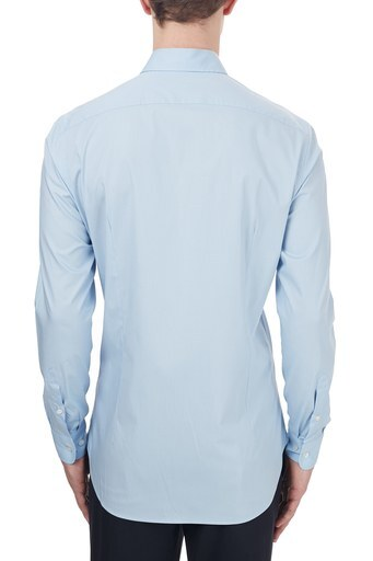 Etro Pamuklu Düğmeli Yaka Slim Fit Erkek Gömlek 1K964 3400 0250 MAVİ
