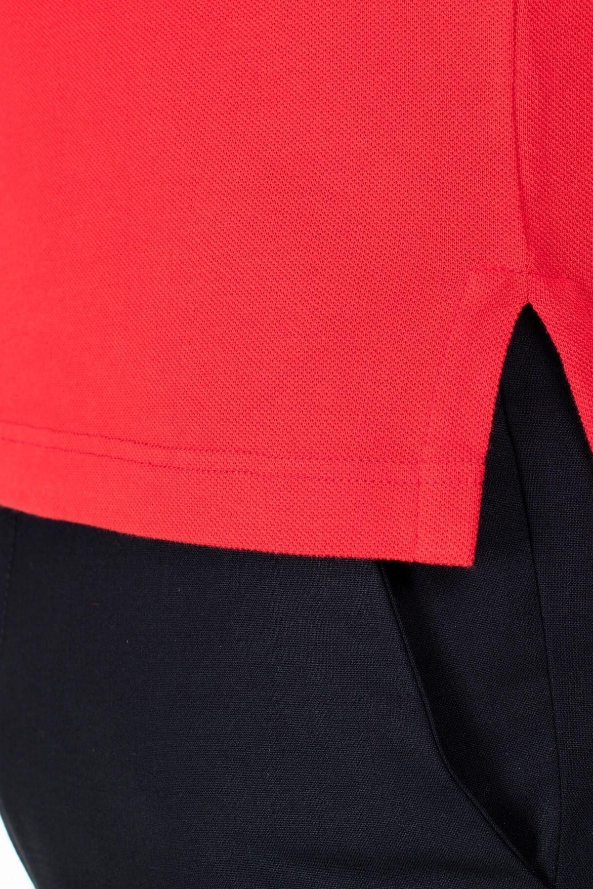 Etro Regular Fit T Shirt Erkek Polo 1Y140 9240 600 KIRMIZI