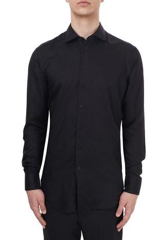 Etro - Etro Slim Fit Uzun Kollu Erkek Gömlek 11451 3272 0001 SİYAH