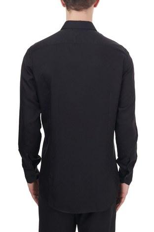 Etro - Etro Slim Fit Uzun Kollu Erkek Gömlek 11451 3272 0001 SİYAH (1)
