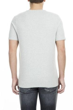 Frankie Morello - Frankie Morello Erkek T Shirt FMCS9052TS G05 GRİ (1)