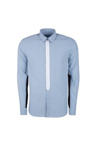 Givenchy - GIVENCHY Erkek Gömlek BM603A109G 452 MAVİ