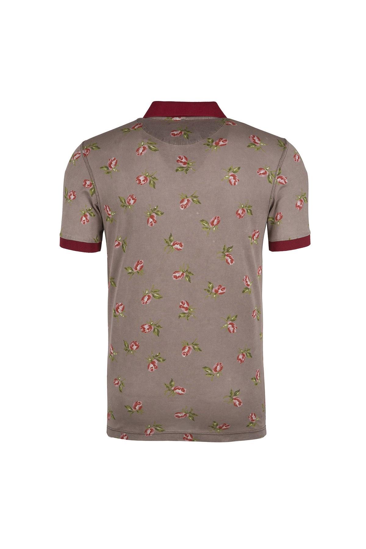 GRAN SASSO T SHIRT Erkek T Shirt 6016366801120 BEJ