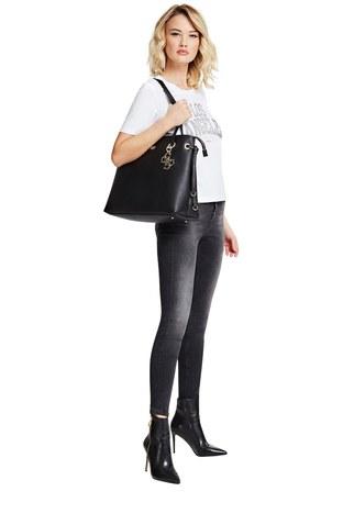 Guess Digital Kadın Çanta HWVG6853240 BLA SİYAH