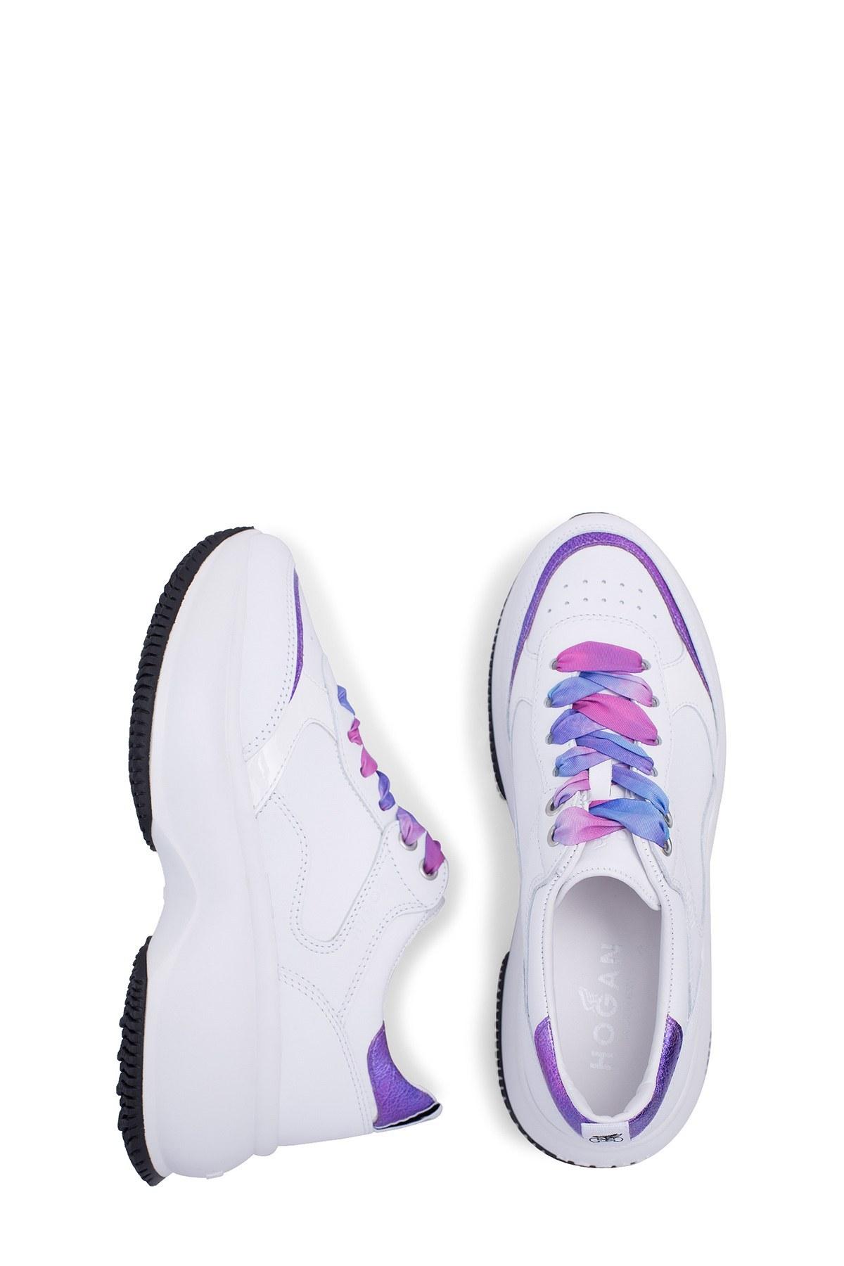 Hogan Kadın Ayakkabı HXW4350BN52N9CST06 BEYAZ