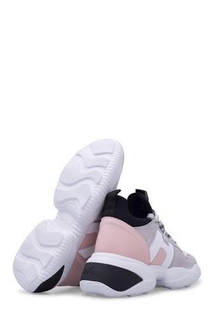 Hogan Kadın Ayakkabı HXW5250CH20NBI0PQ2 VİZON-BEYAZ