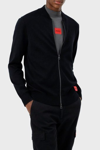 Hugo Boss % 100 Pamuklu Regular Fit Erkek Ceket 50455984 001 SİYAH