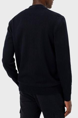 Hugo Boss - Hugo Boss % 100 Pamuklu Regular Fit Erkek Ceket 50455984 001 SİYAH (1)