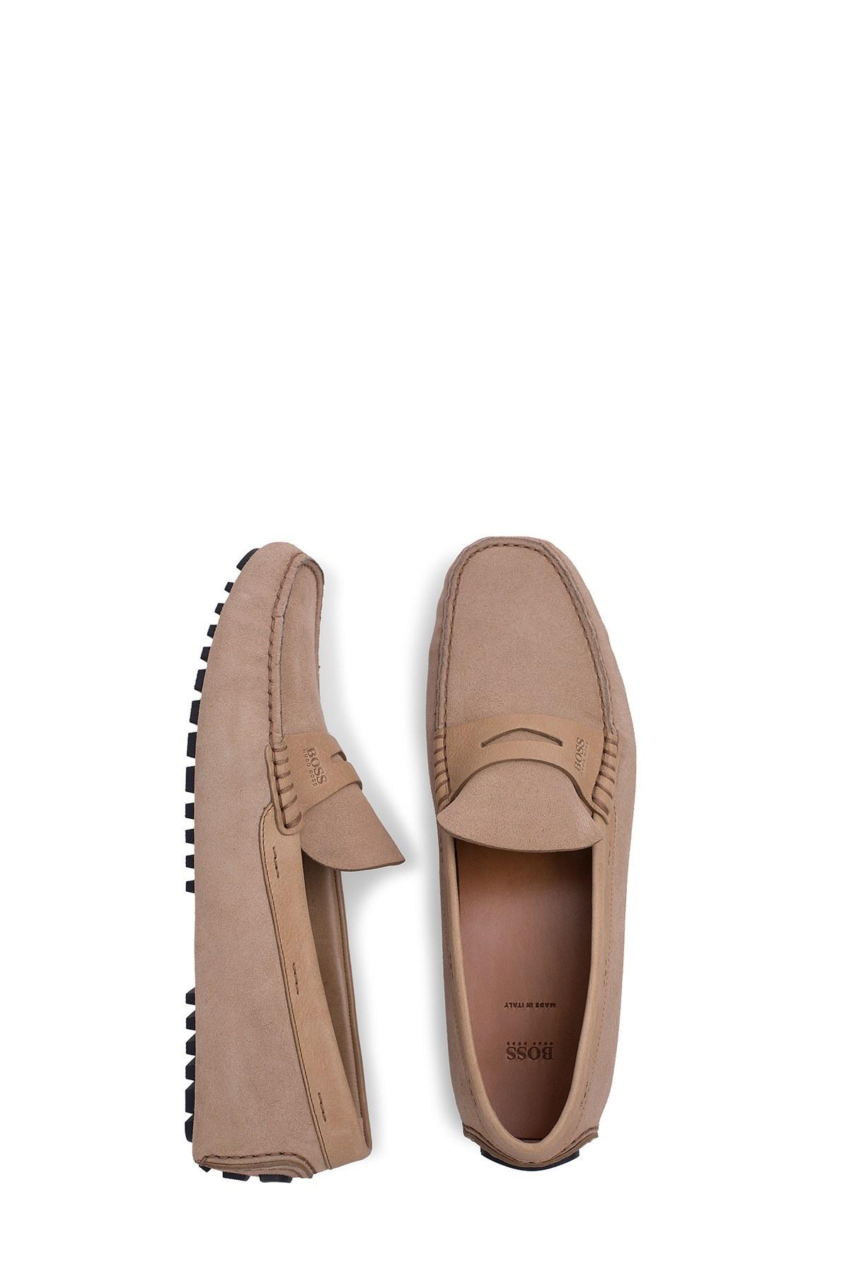 Hugo Boss Erkek Ayakkabı 50429920 235 BEJ