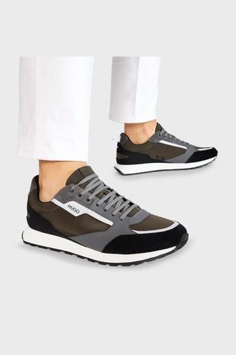 Hugo Boss Erkek Ayakkabı 50451740 340 HAKİ-SİYAH