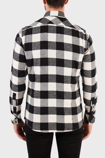 Hugo Boss Erkek Gömlek 50457778 131 EKRU-SİYAH