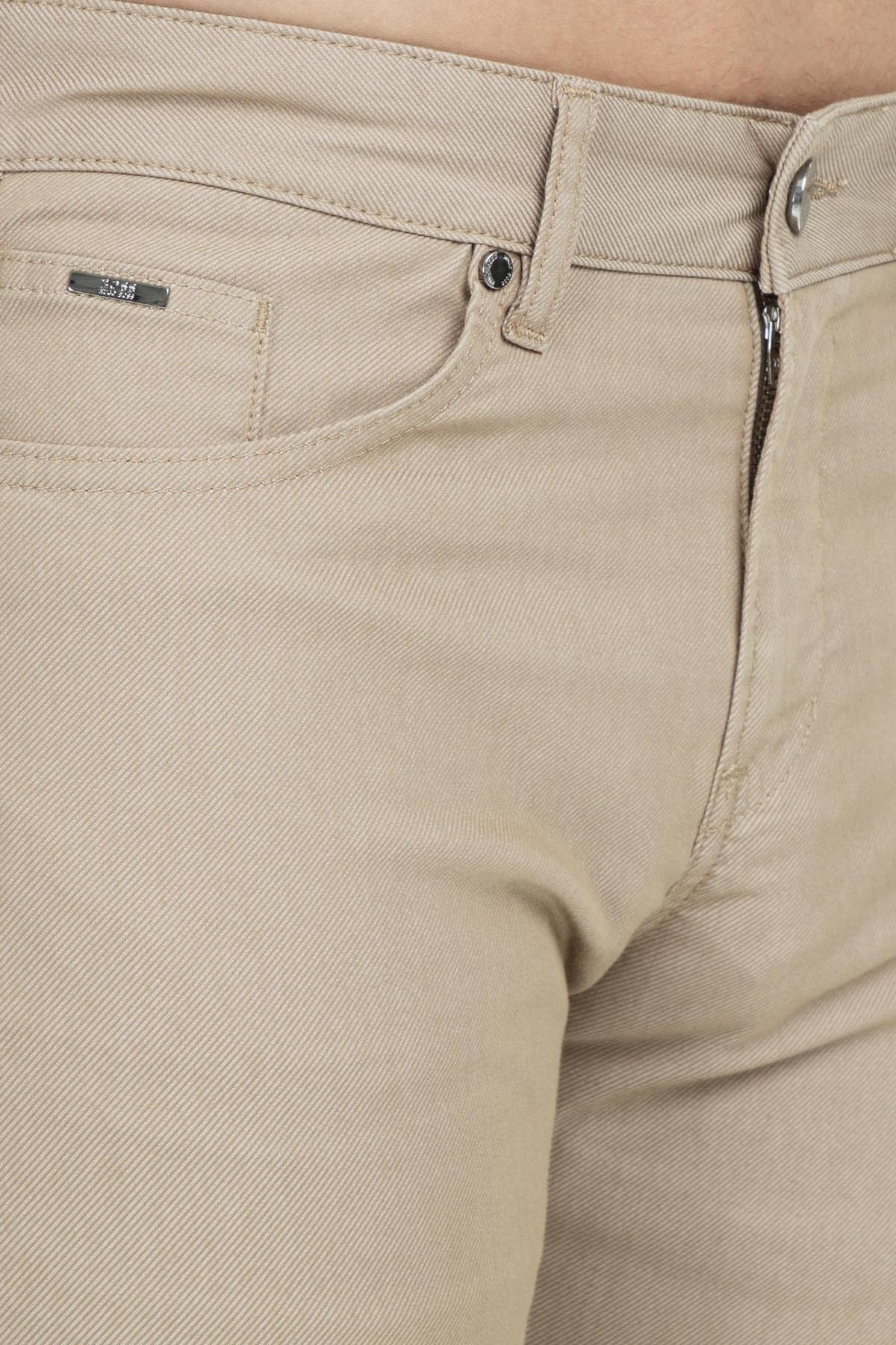 Hugo Boss Erkek Pantolon 50405357 266 BEJ