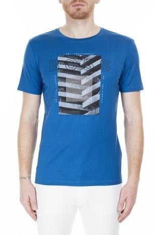 Hugo Boss - Hugo Boss Erkek T Shirt 50427851 426 SAKS