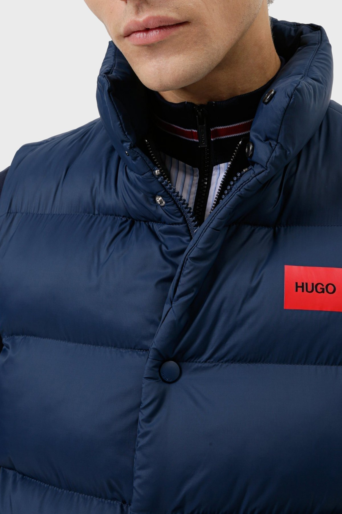 Hugo Boss Erkek Yelek 50456956 404 LACİVERT