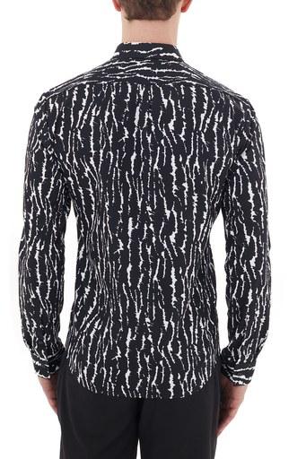 Hugo Boss Extra Slim Fit Düz Yaka % 100 Pamuk Erkek Gömlek 50438101 001 SİYAH