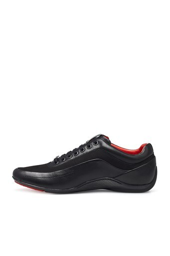 Hugo Boss Hakiki Deri Erkek Ayakkabı 50419534 001 SİYAH