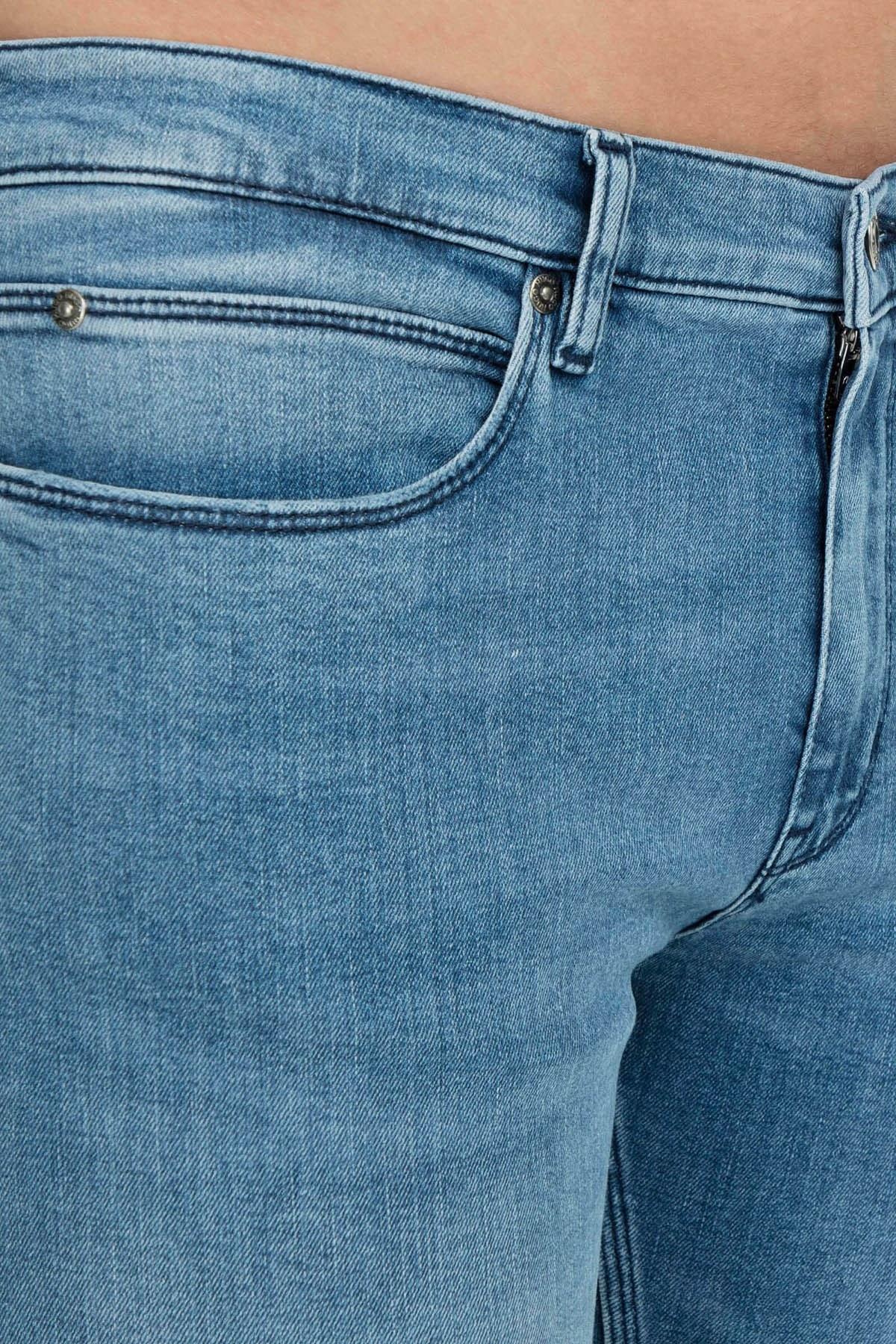 Hugo Boss Jeans Erkek Kot Pantolon 50406471 430 MAVİ