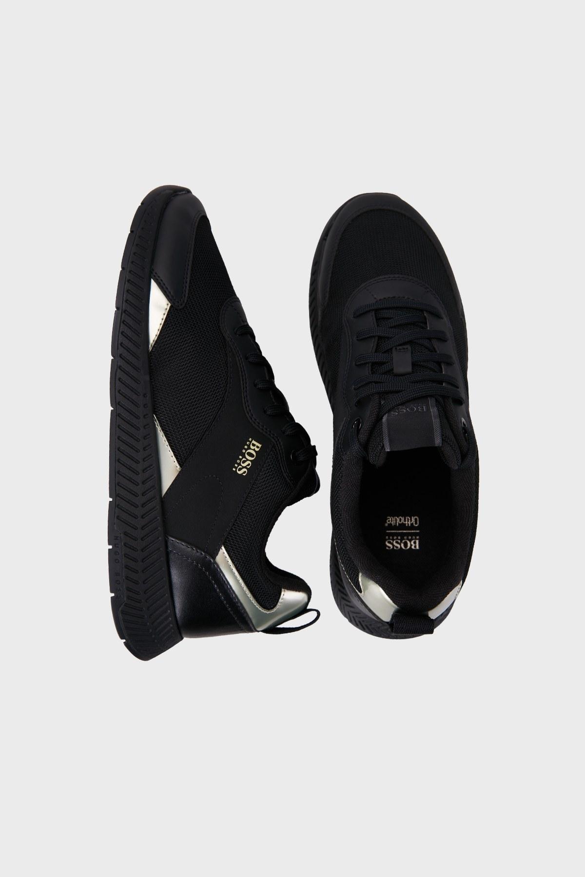 Hugo Boss Logolu Casual Erkek Ayakkabı 50459904 007 SİYAH