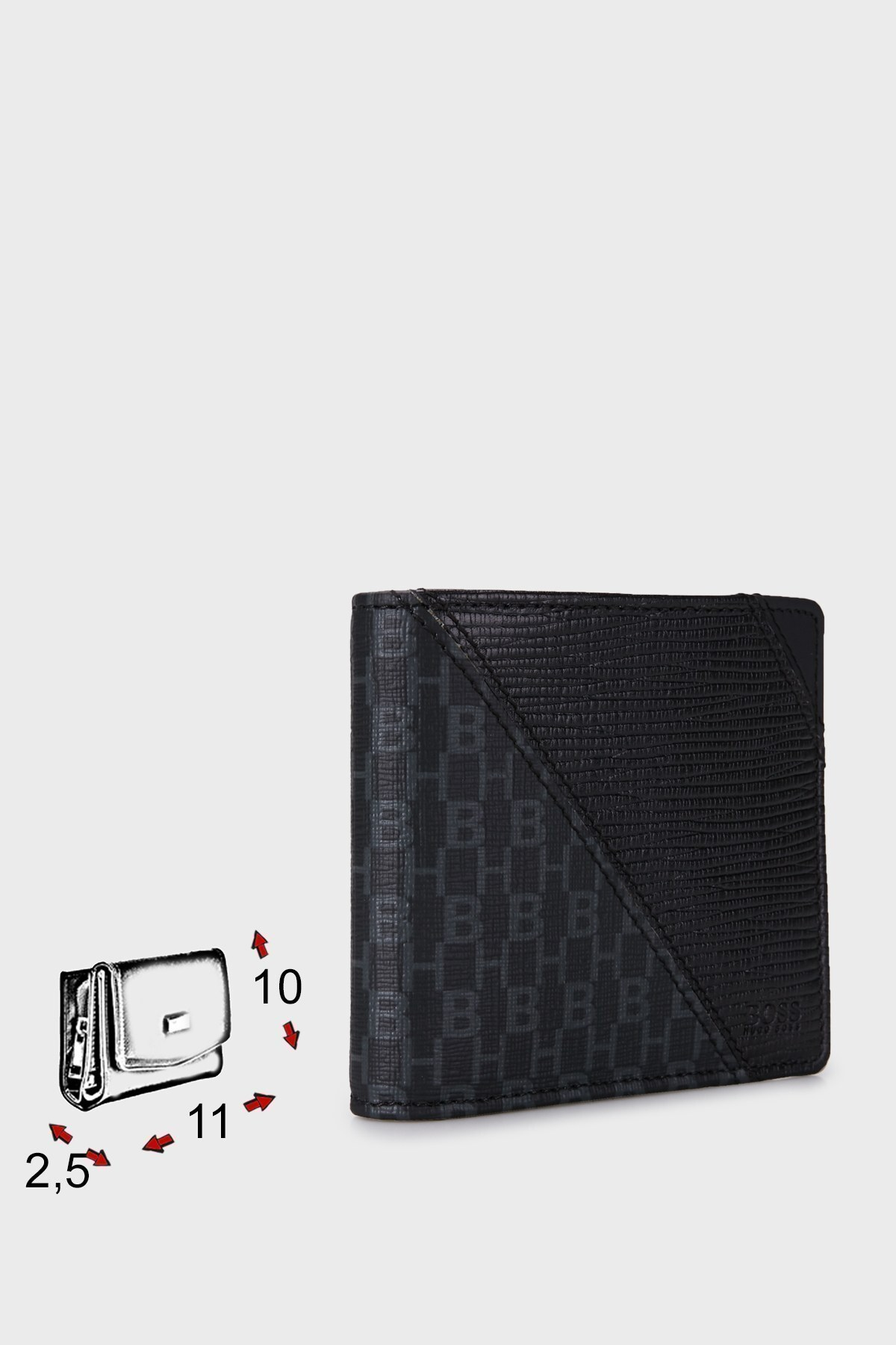 Hugo Boss Logolu Deri Erkek Cüzdan 50449858 001 SİYAH