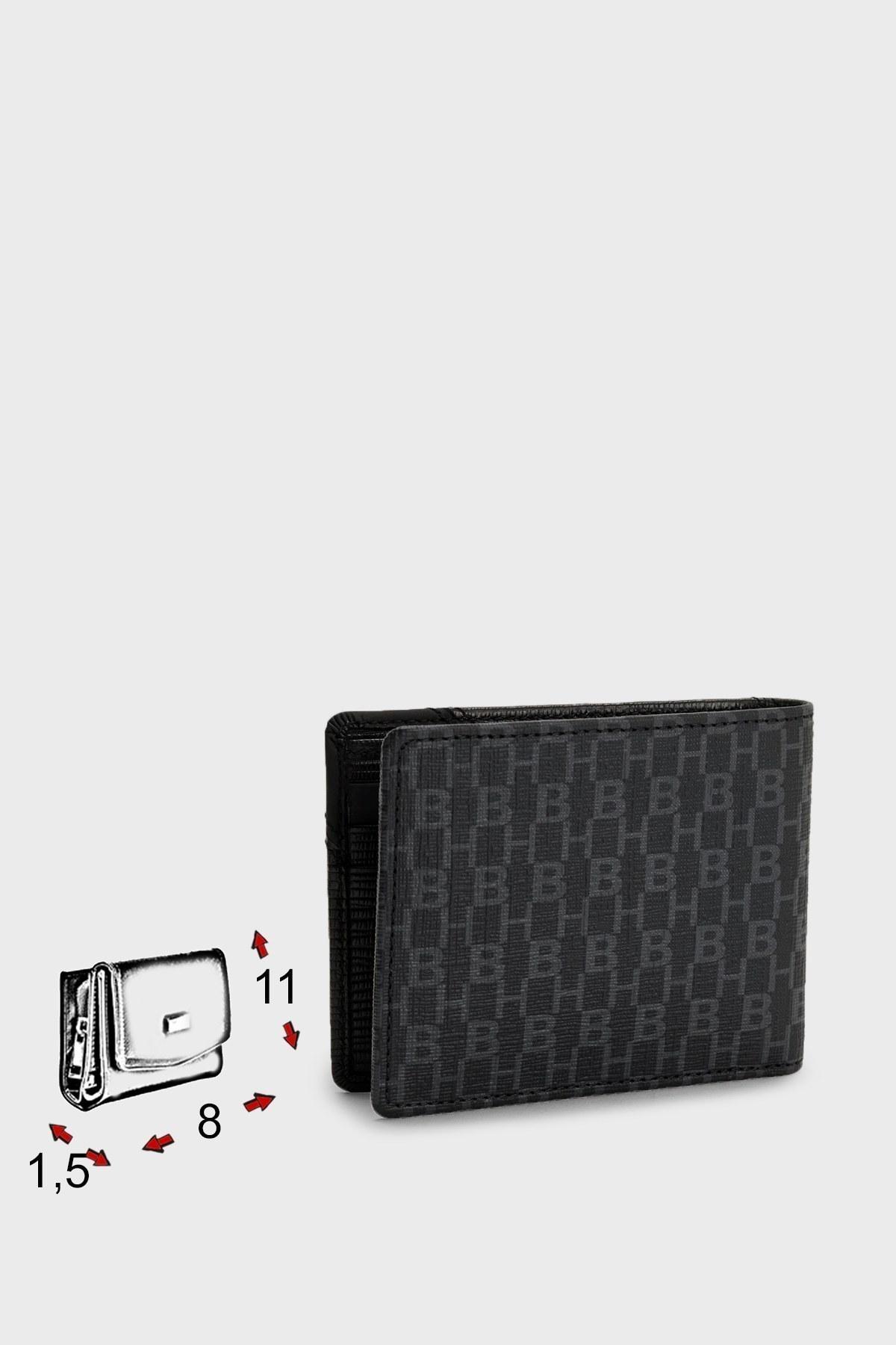 Hugo Boss Logolu Deri Erkek Cüzdan 50451633 001 SİYAH