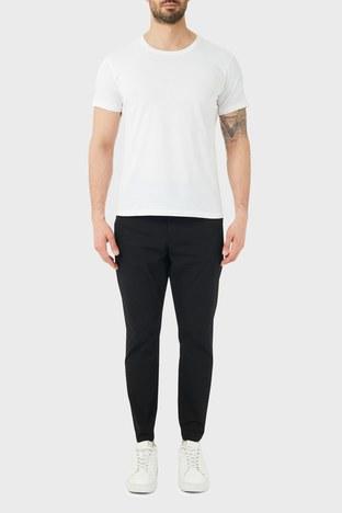 Hugo Boss - Hugo Boss Pamuklu Belden Bağlamalı Regular Fit Erkek Pantolon 50447740 001 SİYAH