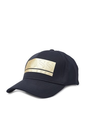 Hugo Boss Pamuklu Erkek Şapka 50435479 402 LACİVERT