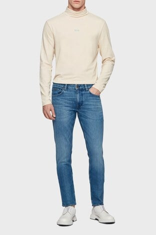 Hugo Boss - Hugo Boss Pamuklu Extra Slim Fit Jeans Erkek Kot Pantolon 50449628 433 LACİVERT
