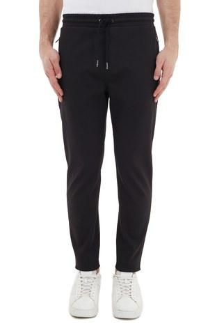 Hugo Boss - Hugo Boss Regular Fit Belden Bağlamalı Cepli Erkek Pantolon 50436558 001 SİYAH (1)