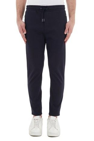 Hugo Boss - Hugo Boss Regular Fit Belden Bağlamalı Cepli Erkek Pantolon 50436558 402 LACİVERT (1)