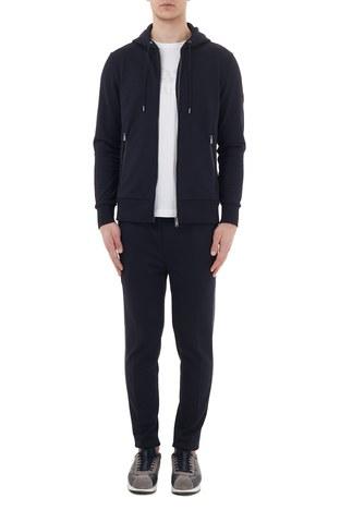 Hugo Boss - Hugo Boss Regular Fit Belden Bağlamalı Cepli Erkek Pantolon 50436749 403 LACİVERT