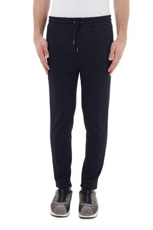 Hugo Boss - Hugo Boss Regular Fit Belden Bağlamalı Cepli Erkek Pantolon 50436749 403 LACİVERT (1)