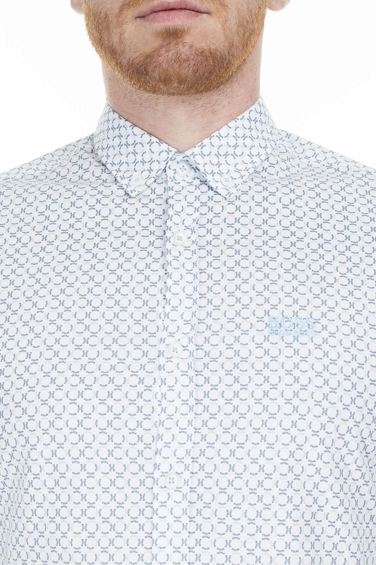 Hugo Boss Regular Fit Erkek Gömlek 50427554 404 LACİVERT