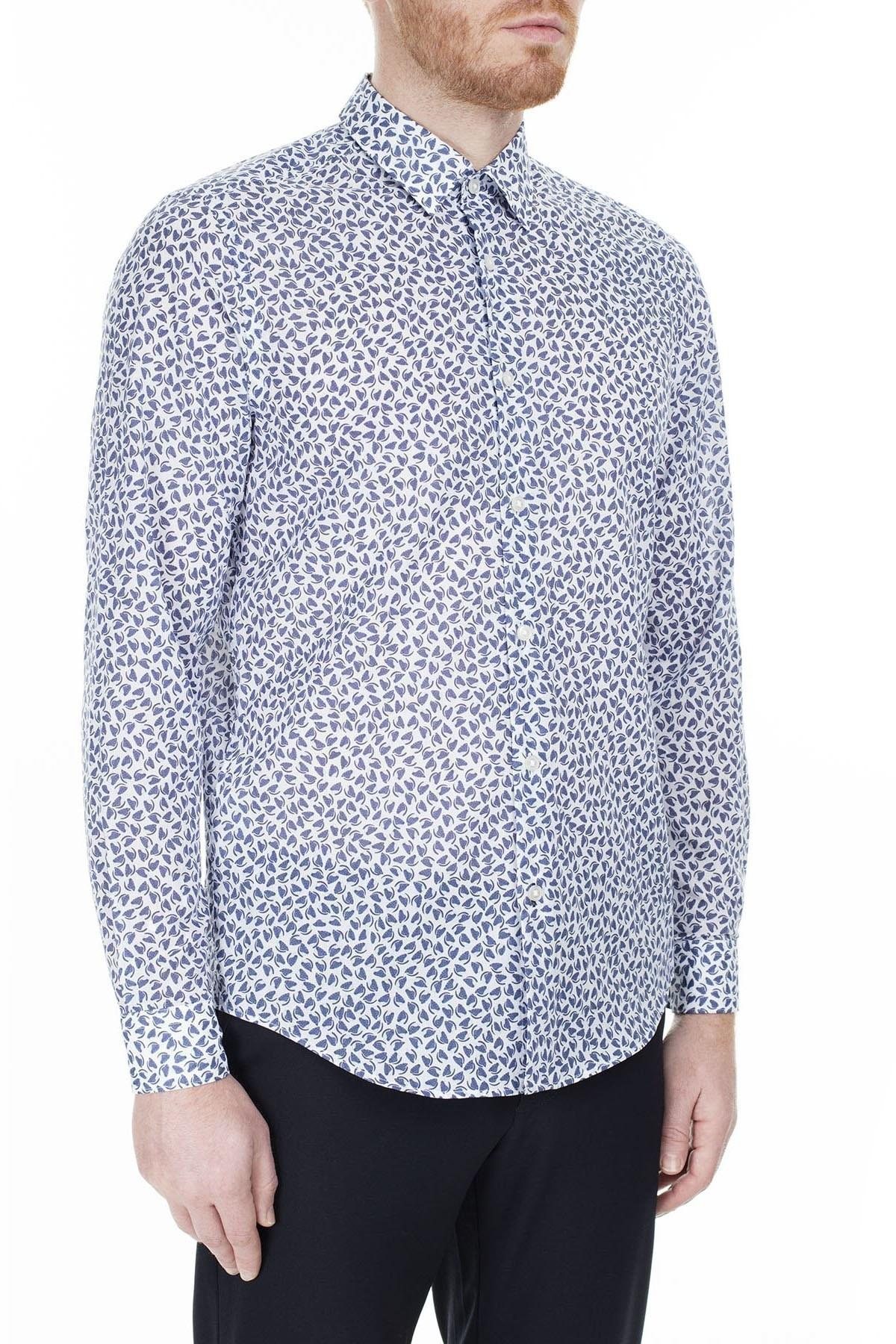 Hugo Boss Regular Fit Erkek Gömlek 50427556 402 LACİVERT
