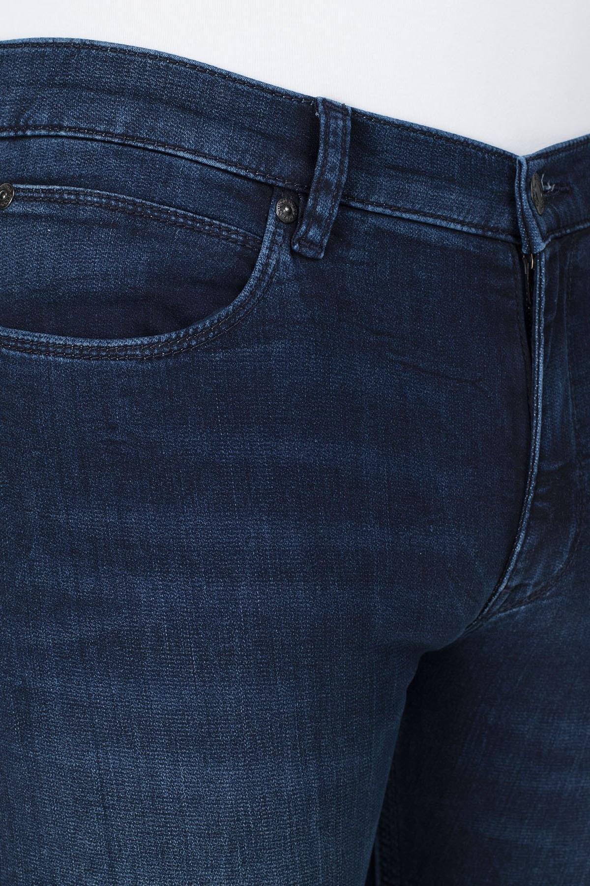 Hugo Boss Skinny Fit Jeans Erkek Kot Pantolon 50426677 408 LACİVERT