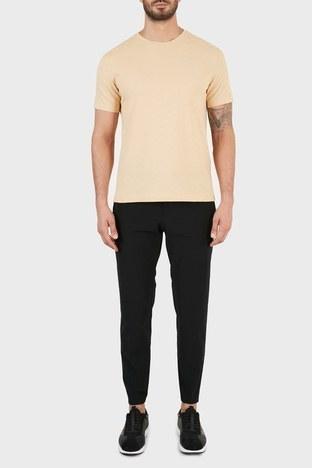 Hugo Boss - Hugo Boss Slim Fit Belden Bağlamalı Cepli Erkek Pantolon 50453780 001 SİYAH