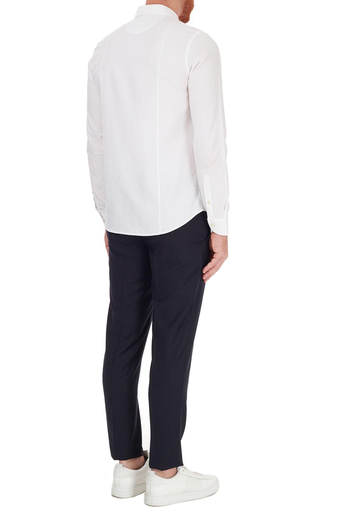 Hugo Boss Slim Fit Beli Bağcıklı Yünlü Erkek Pantolon 50440817 401 LACİVERT