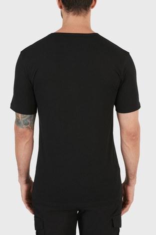 Hugo Boss - Hugo Boss Slim Fit Bisiklet Yaka Pamuklu 2 Pack Erkek T Shirt 50325407 001 SİYAH (1)