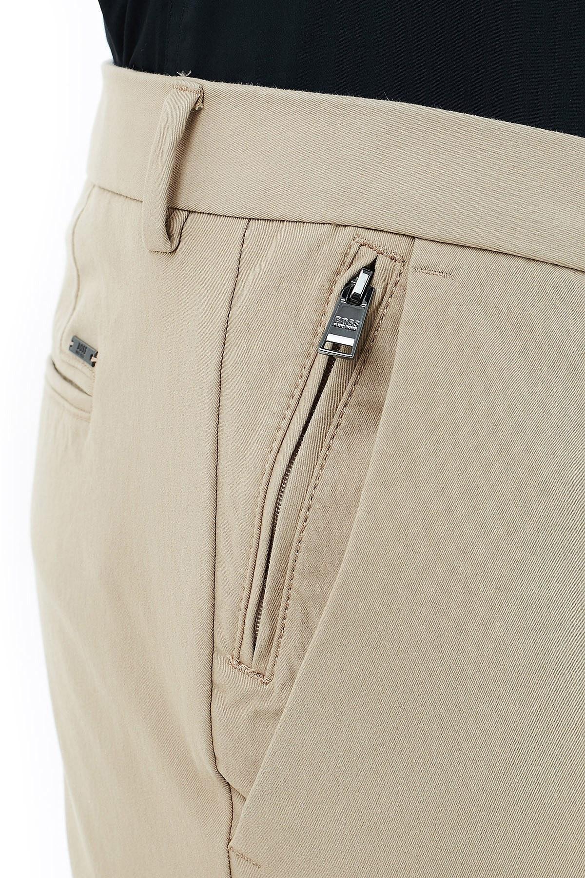 Hugo Boss Slim Fit Cepli Erkek Pantolon 50437895 275 AÇIK BEJ