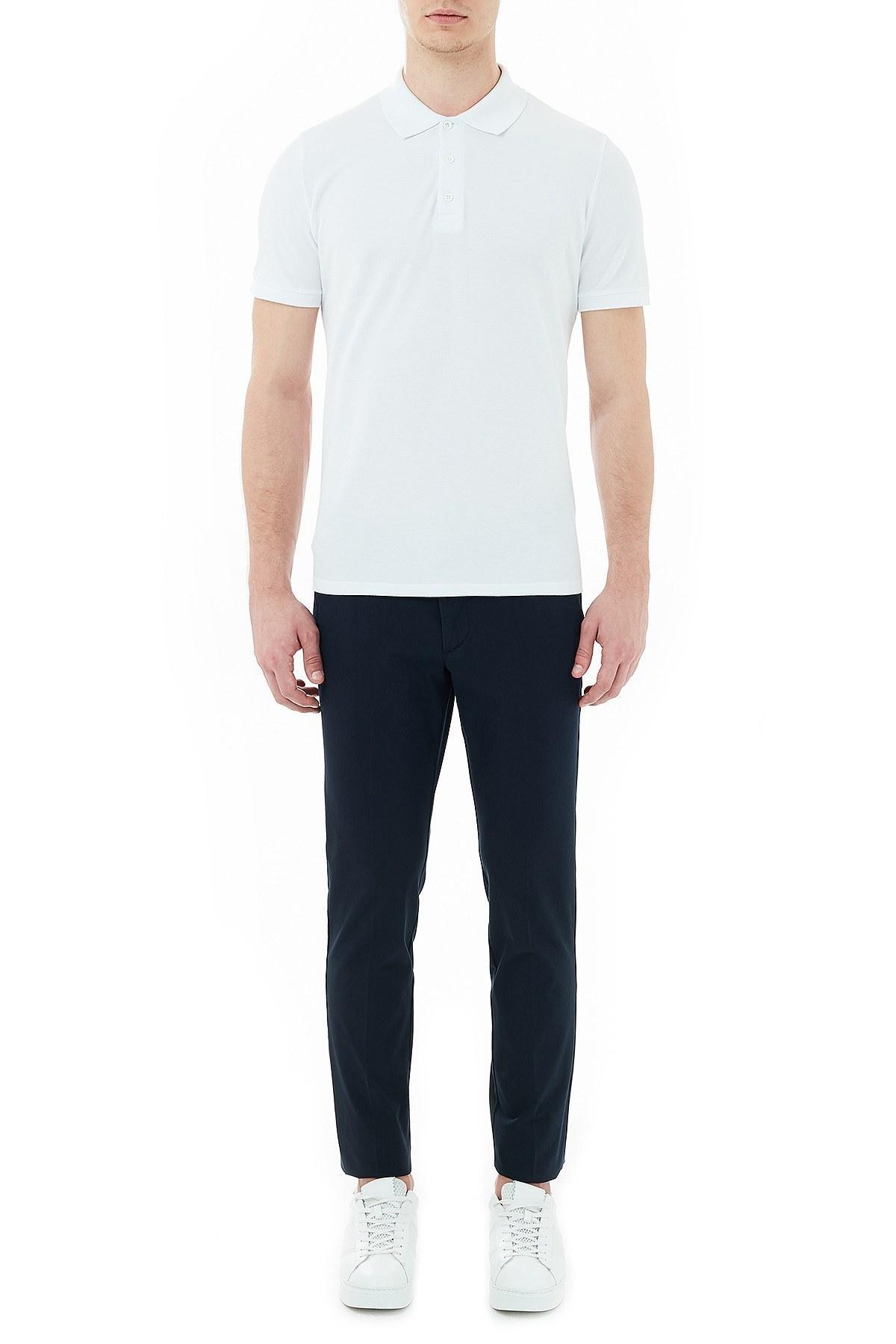 Hugo Boss Slim Fit Cepli Erkek Pantolon 50437895 402 LACİVERT
