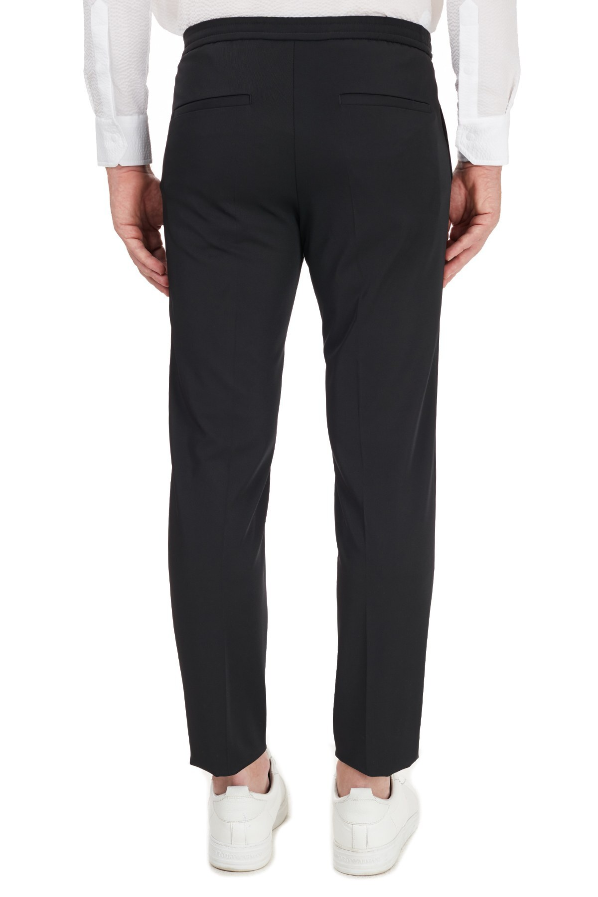 Hugo Boss Slim Fit Cepli Erkek Pantolon 50440340 001 SİYAH