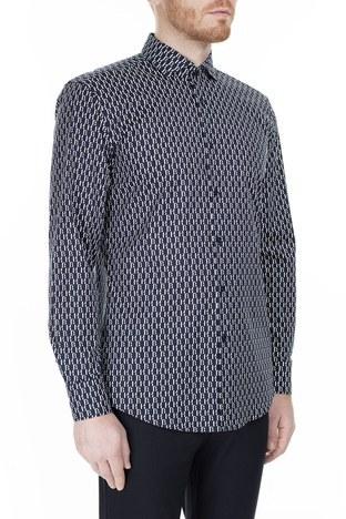 Hugo Boss Slim Fit Erkek Gömlek 50428159 410 LACİVERT