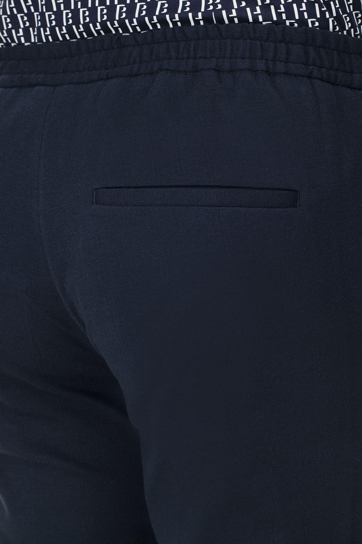 Hugo Boss Slim Fit Erkek Pantolon 50427107 402 LACİVERT
