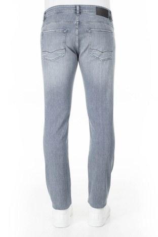 Hugo Boss Slim Fit Jeans Erkek Kot Pantolon 50426423 050 GRİ