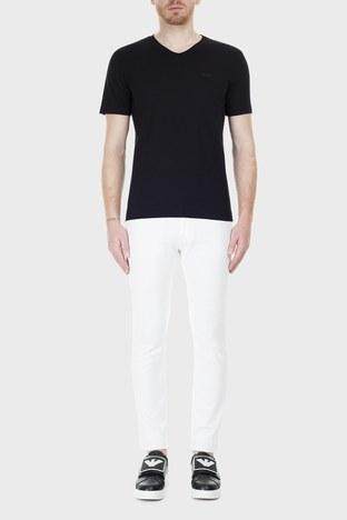Hugo Boss - Hugo Boss Slim Fit Jeans Erkek Kot Pantolon 50426531 100 BEYAZ