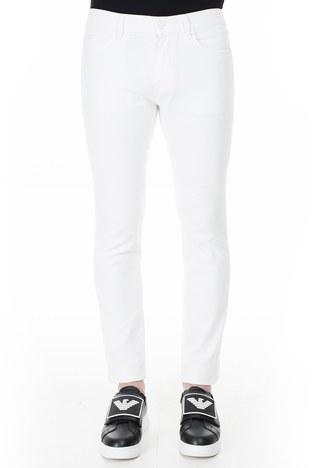 Hugo Boss - Hugo Boss Slim Fit Jeans Erkek Kot Pantolon 50426531 100 BEYAZ (1)