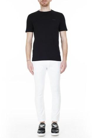 Hugo Boss - Hugo Boss Slim Fit Jeans Erkek Kot Pantolon 50426705 100 BEYAZ
