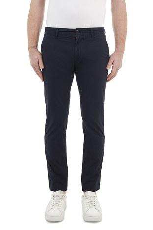 Hugo Boss - Hugo Boss Slim Fit Pamuklu Erkek Pantolon 50447768 404 LACİVERT (1)