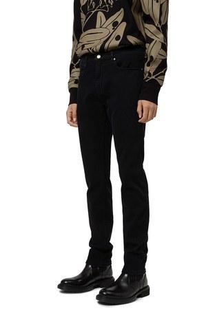 Hugo Boss - Hugo Boss Süper Yumuşak Pamuklu Streç Slim Fit Jeans Erkek Kot Pantolon 50443758 002 SİYAH (1)