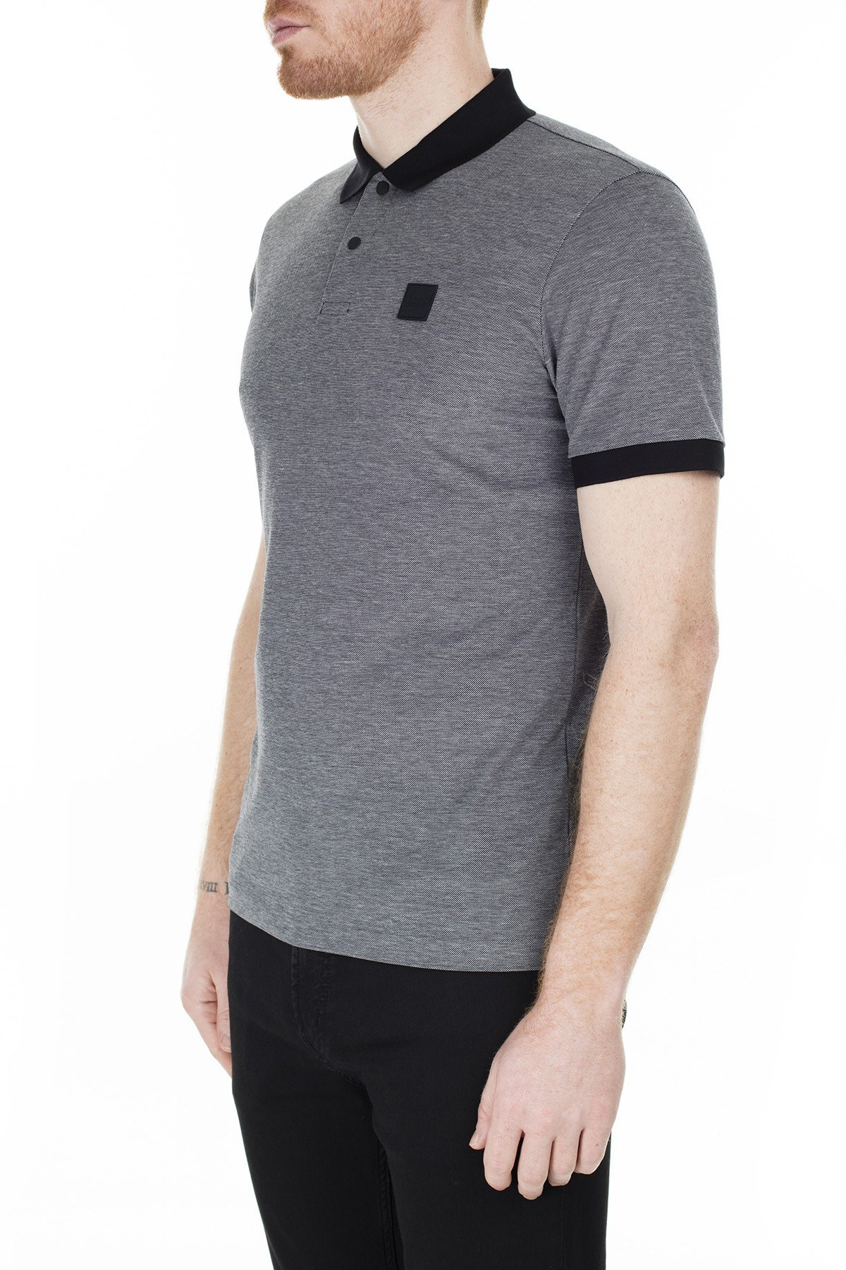 Hugo Boss T Shirt Erkek Polo 50423189 001 SİYAH