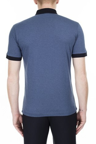 Hugo Boss - Hugo Boss T Shirt Erkek Polo 50423189 479 LACİVERT (1)